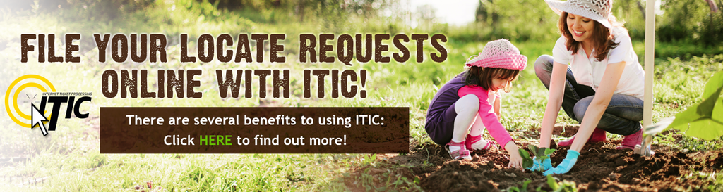 File Your Locate Requests Online with ITIC!